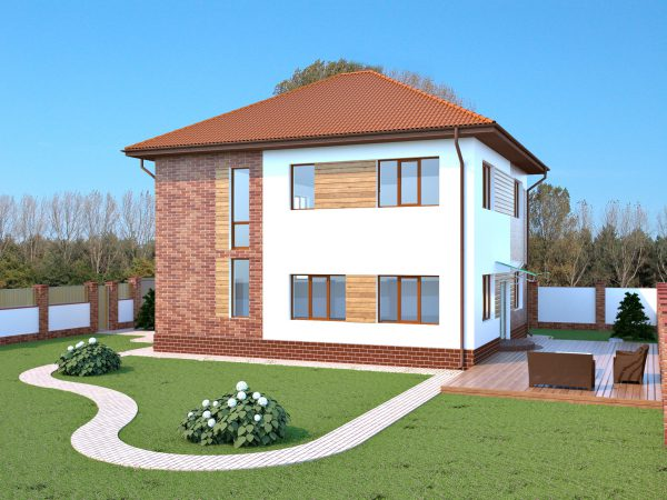 Дом в селе Мизикевича