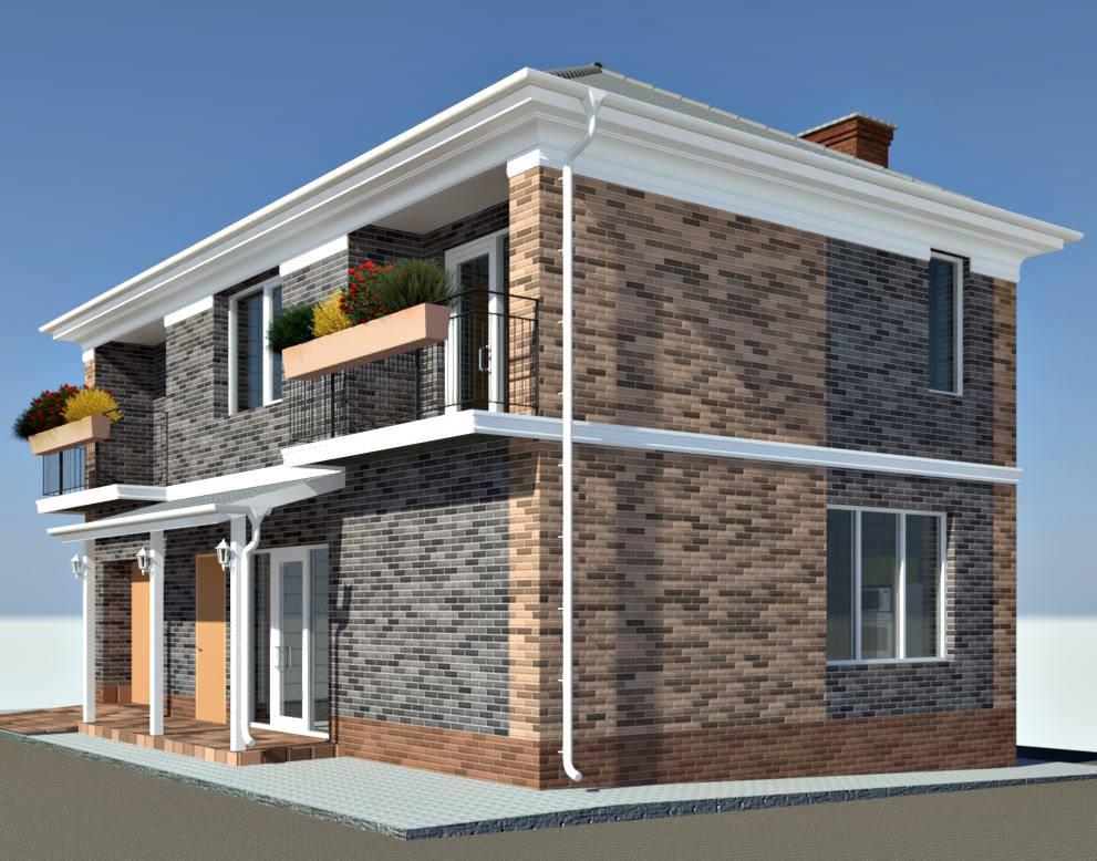 Проект энергоэффективного дома в Одессе