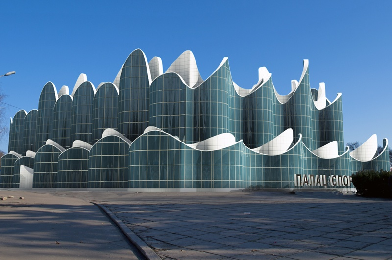 Фасад одесского дворца спорта
