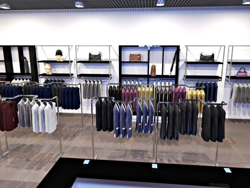 Дизайн магазина женской деловой одежды Larex в Одессе