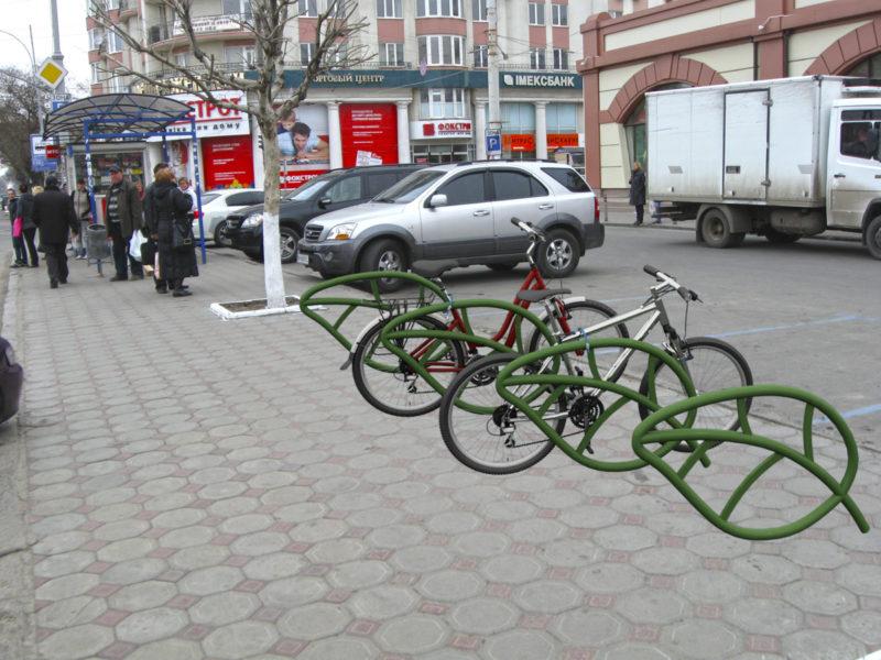 """Велопарковка """"Листья"""""""
