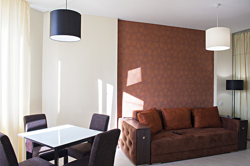 Дизайн и реализация интерьера квартиры 40 м.кв.
