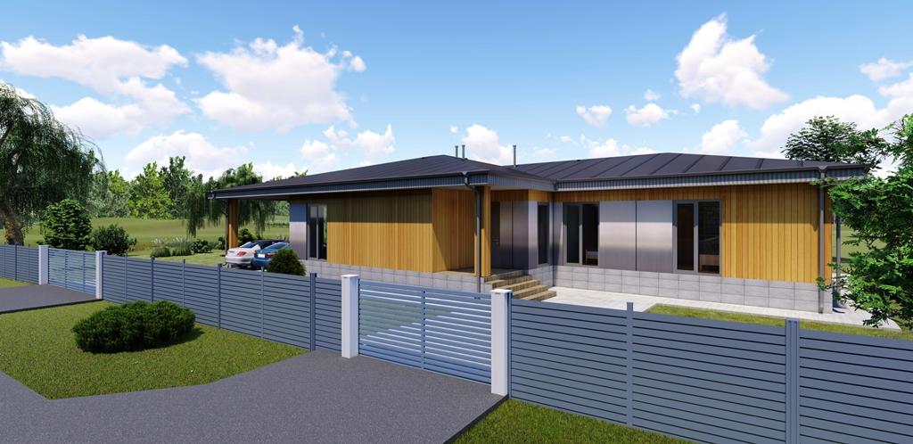 Ескіз намірів забудови (реконструкції) житлового будинку на березі річки